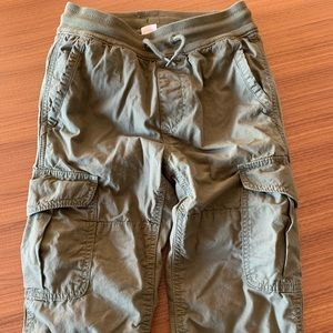 Gap Boys lined camo cargo pants